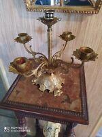 Candélabre en Bronze 5 bras de Lumières