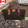 Twilly Handle Decoration Silk Ribbon Scarf for Louis Vuitton Handbag Purse
