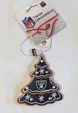 Oakland Raiders Gingerbread Tree Christmas Tree Xmas Ornament NEW - TREE