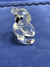 Miniature Crystal Koala Bear Figurine (i)