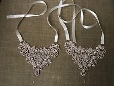 sandals, Bridal foot shoe jewelry Amazing RoseGold rhinestone wedding barefoot