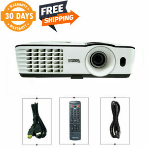 BENQ MX660P DLP Projector 3000 ANSI 3D HDMI Meeting Presentation Cinema bundle
