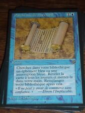 MTG Magic the Gathering PARCHEMIN DU MARCHAND Homelands French Unplayed RARE