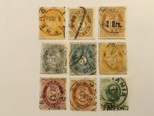 old stamps NORWAY   x  9