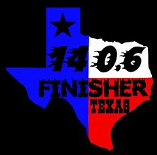 2018 or Any year Ironman Triathlon Texas Finisher Decal