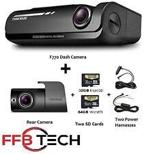 Thinkware F770 KIT 1080p HD Dash Cam 64GB Night Vision WiFi GPS +Rear +Hardwire