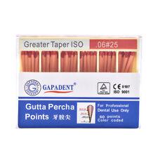 1pc Dental Absorbent 60 Points 0.06 25# Gutta Percha Taper Endodontic GAPADENT