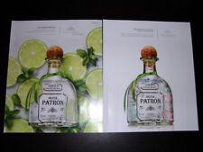PATRON Tequila 2-Page Magazine PRINT AD 2013 mojito passport stamps