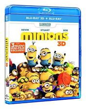 Minions (Blu-ray 3D + Blu-ray ) [2015]     Brand new and sealed