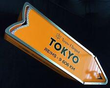 VEUVE CLICQUOT CHAMPAGNE ARROW DESTINATION SIGNPOST DECORATION ONLY- TOKYO