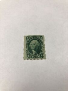 US Stamps Scott # 35 Unused Extra Fine Original Gum With PF Certificate.