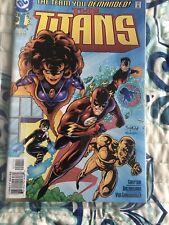 The Titans #1 (Mar 1999 DC) 1st Damien Darhk Comic Book