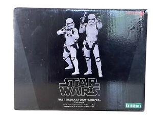 ArtFX+ Star Wars The Force Awakens 1st Order Stormtrooper 2 Pack 1/10 Statues