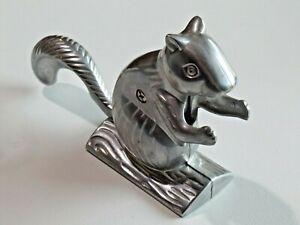 Vintage Davy Crackit The Squirrel Nutcracker Cast Aluminum Felt Pads