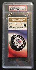NEW YORK RANGERS 1994 STANLEY CUP FINALS Winning Game 7 TICKET Psa 5 MT Messier