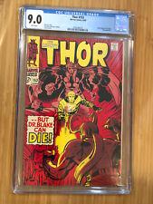 Thor #153 CGC 9.0 White Pages Ulik Loki