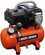 Black&Decker Compressore aria compressa portatile 6 litri 1,5Hp BD195/6/NK