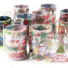 10pcs Nail Foils Stickers Starry Christmas Theme Nail Art Stickers Decals Tip/