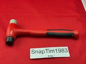 Snap On Red Black 24oz Plastic Tip Hammer HBPT24