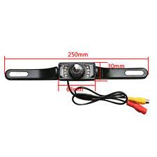 Car Reversing Rear View Camera Parking IR Night Vision Waterproof Number Plate