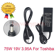 75W AC Adapter Charger for Toshiba Satellite C655 L505 C855D A205-S5000 Laptop
