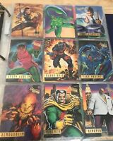SPIDER-MAN 1995 FLEER ULTRA MASTERPIECES INSERT CARD SET of 90 Cards