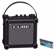 Roland MICRO CUBE GX Battery Powered Guitar Amplifier - Black BONUS PAK