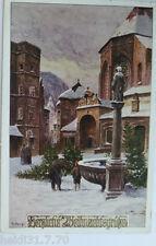 """"""" Natale,VILLAGGIO,Fontana,Albero Di Natale VENDITA """" 1920,sig. r. Kargl (6300)"""