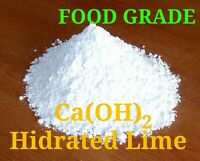 Calcium Hidroxide Ca(OH)2 - Slaked / Hidrated / Pickling Lime - FOOD GRADE E526