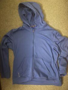 Nike Therma Fit Hoodie Blue Large