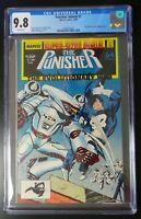 Punisher Annual #1 Marvel Comics 1988 CGC 9.8 White Pages Evolutionary War