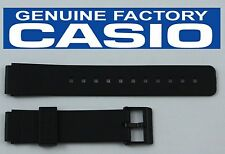 CASIO MQ-24  16mm Original Black Rubber Watch BAND Strap MQ-24 EB-3011 MQ-58