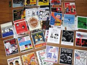 Muhammad Ali Program Cover 50 Trading Card Set