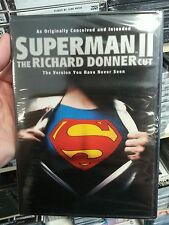 Superman II: The Richard Donner Cut (DVD, 2006) BRAND NEW SEALED FREE SHIP