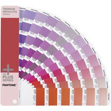 PANTONE Premium le parti metalliche rivestito GUIDE. NUOVO, 300 colori metallici. RRP £ 60 + IVA