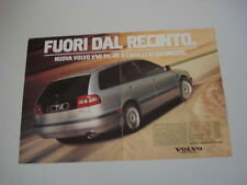 advertising Pubblicità 1997 VOLVO V40 V 40 T4