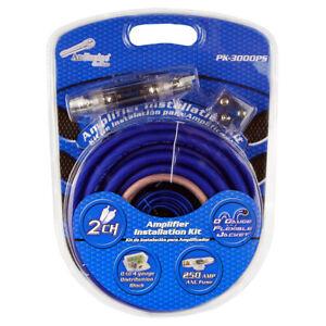 Audiopipe PK3000PS 0 Gauge Flexible Cable Amp Kit
