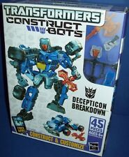 TRANSFORMERS DECPETICON BREAKDOWN construct bots Build transformer NEW