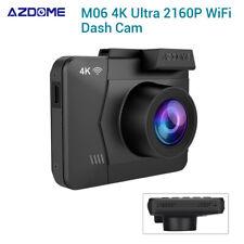 AZDOME M06 4K HD 2160P WiFi Dash Camera Car DVR Recording w/ GPS Night Vision IR