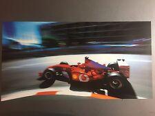 2003 Ferrari Rubens Barrichello Formula 1 Race Car Print Picture Poster RARE!!