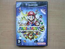 Nintendo Gamecube - Mario Party 5  - Manual INCLUDED