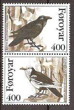 Faroer - 1995 - Mi. 283-84 (Vogels) - Postfris - FA029