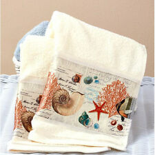 Tropical Hand Towels For Bathroom Decor Ideas Guest Beach Fish Shells Starfish