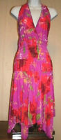 Women Asymmetrical hem Dress,open back,Unbranded  Multicolor. Size Large