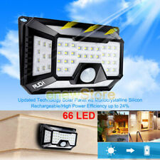 66 Solar LED Light Outdoor Garden Waterproof Wireless Security Motion 3 Modes