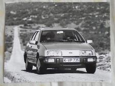 Ford Sierra press photo Sep 1982 German text v4
