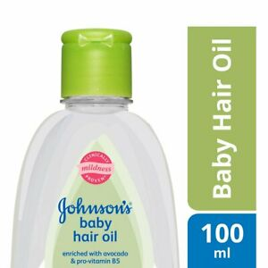 Johnson's Baby Hair Oil with Avocado, 100ml, 200ml (Pack of 1)