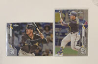 🔥Trent Grisham 2020 Topps Chrome + Update Rookie Card RC San Diego Padres Lot📈