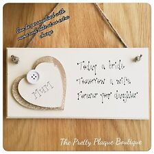 Handmade Wooden Decorative Plaques & Signs