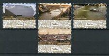 Portugal 2017 MNH Porto Our Cities 4v Set Bridges Tourism Architecture Stamps